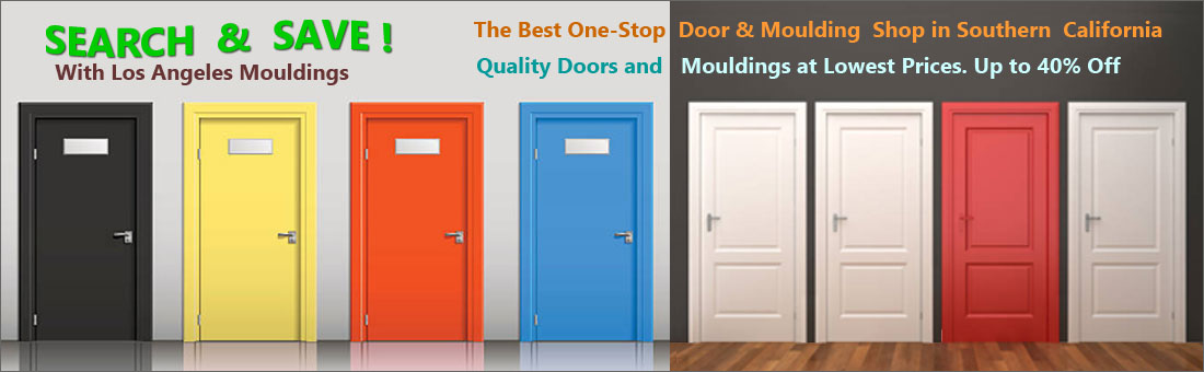 Quality door and moulding for home improvement - at Los Angeles Moulding
